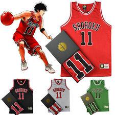 Anime Cosplay Slam Dunk Shohoku Basketball Replica Jersey Costume NO.1-15