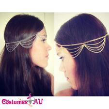 Deco Vintage Headband 20s Flapper Chain Headpiece Gatsby Bride 20's Boho Goddess