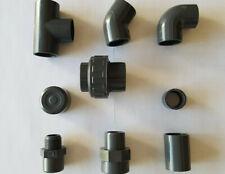 BOUCHON COUDE EMBOUT MAMELON REDUCTION TE TUBE UNION VANNE-PVC PRESSION A COLLER