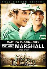 NEW Sealed We Are Marshall (DVD, 2007, Full Frame) Starring Matthew McConaughey