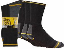 12 Pairs Mens  Work Boot Socks summer Cap builders  Reinforced Toe  Size 6-11