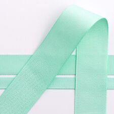 Mint Grosgrain Ribbon 10m reels, 4 widths available