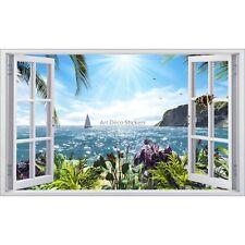 Sticker fenêtre déco Mer réf 5390 5390
