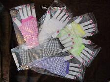 Netzhandschuhe Handschuhe lang Farbe wählbar
