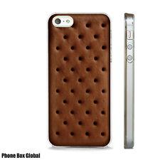 BOURBON BISCUIT POP TART CHOCOLATE  CAKE CASE FITS IPHONE 4 5 6 7 8 SE PLUS & X