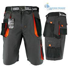 Arbeitshose Kurze Hose Bermuda Shorts LH Grau Schwarz Orange Gr. S-XXXL NEU OVP