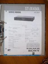 Service-Manual Sony ST-JX450L Tuner,ORIGINAL