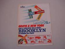 advertising Pubblicità 1971 BROOKLYN CHEWING GUM