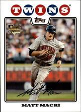 2008 Topps Update Baseball Card Pick 261-330
