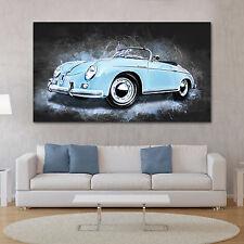 Leinwand Bild Porsche Speedster Auto Modern Abstrakt Poster XXL Wandbild