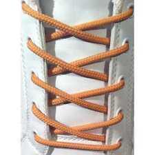 LACCI PER SCARPE MARRONE CHIARO TONDI 4MM - STRINGHE IN COTONE 60/75/90/120CM