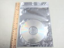 "25/50/200/600 Silver Aluminum Foil Mylar 6""x8"" Ziplock Bag/Pack Clear Front AL-3"
