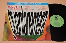 BETTY CURTIS LP 1°ST ORIG 1968 NM !! GUANTANAMERA AUDIOFILI ESIGENTI TOP NM !!!!