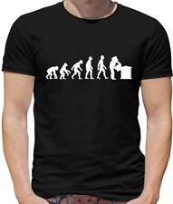 Evolution Of Man Beekeeper Mens T-Shirt - Beekeeping - Bees - Honey - Bee