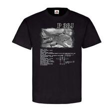 P 38J Flugzeug Amerika Soldaten Militär Army Luftflotte lookheed T-Shirt #22844
