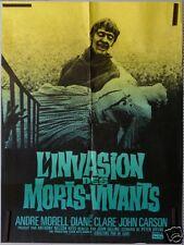 AFFICHE FILM L'INVASION DES MORTS VIVANT ANDRE MORELL DIANE CLARCK 1966