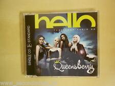 MAXI CD--QUEENSBERRY--HELLO--2 TRACKS--