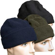 Fleece Rollmütze Beanie Wintermütze 3M Thinsulate schwarz oliv blau Pro Company