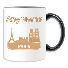 Regalo Personalizzato Parigi città TAZZA MONEY BOX TAZZA CATTEDRALE CHIESA GOTICA francese