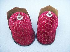 2 matching Masonic hats Red