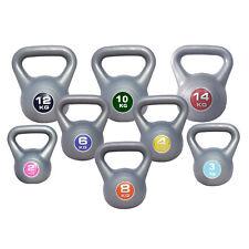 Kettlebells Home Gym Strength Training Workout 2kg - 14kg FREE Kettlebell DVD