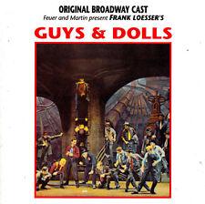Guys & Dolls-1950-Original Broadway Cast-CD