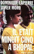 DOMINIQUE LAPIERRE & JAVIER MORO / IL ETAIT MINUIT CINQ A BHOPAL / GF TBE