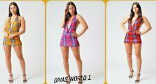 Women Sleeveless Halter Neck Dress Party Wear Bodycon Backless Size (6-24) DIVAS