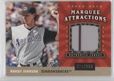 2004 Upper Deck Sweet Spot Marquee Attractions Jerseys #MA-RJ Randy Johnson Card