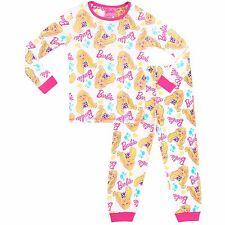 Barbie Snuggle Fit Pyjamas | Girls Barbie PJs | Kids Barbie Pyjama Set | NEW