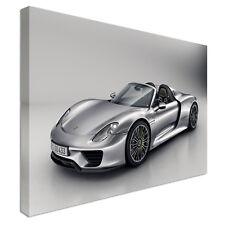 Porsche 918 Car Canvas Wall Art Picture Print