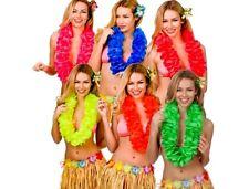 DELUXE HAWAIIAN LEI Summer Party Flower Hula Fancy Dress Petal Luau Party Piece