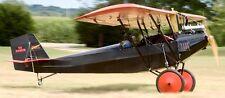 Sky Scout Homebuilt Pietenpol USA  Airplane Mahogany Kiln Wood Model Small New