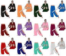 25Clr Slit Harem Pant Top Choli Belly Dance Tribal Yoga Pantaloons Trousers Boho