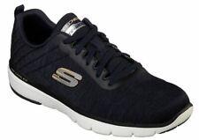 Skechers Flex Advantage 3.0-Jection Herren Schuhe Sneaker 52956(black/Blau-NVBK)