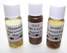 Oro, Incienso Y Mirra Herbal Botánica infundido hidrocarburos