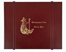 Britannia Série Boîte à monnaies/Boîte pour pièces de monnaie/Tirelire pour 20x