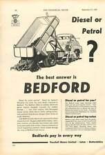 1954 Diesel Bedford Vauxhall Motors Ad