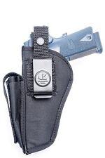 Kimber Carry Pro II, HD II, TLE II | OWB Open Carry Belt Holster w/ Mag Pouch