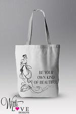 Essere proprio il tipo di BELLA tote shopper shopping bag regalo personalizzato