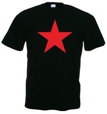 Red star t-shirt, Noir