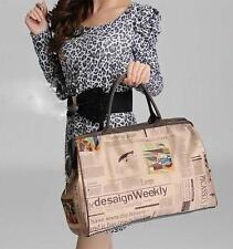Women's Retro Handbag Large Capacity Outdoor Traveling Bag Casual Shoulder Bag
