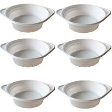 Suppenteller 500ml Einweg Weiß Suppenterrine Plastik weiße Teller Einweggeschirr
