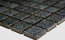 Mosaikfliese uni steingrau rutschhemmend Keramik rutschfest  Art: 18-0208_b