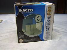 X-ACTO School Pro Various Size Pencil Sharpener in FINE Condition