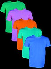 """Schwarzlicht T-Shirt Basic """"Blacklight"""" Neon"""