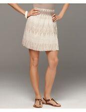 Calvin Klein Jeans women Stone Printed Smocked skirt 6 8 10 12 14 NEW Macys