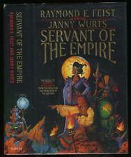 Feist & Wurts: Servant of the Empire HB/DJ 1st/1st (1990)