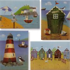 Seaside Spiaggia e magnete in Metallo / NUOVO COLLEZIONE ESTATE VACANZE illustrazione REGALO