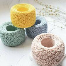 Linen yarn, Lithuanian linen thread, 100% Linen lace yarn in 1.8 oz balls